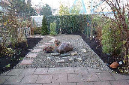 Umgestaltung Reihenhausgarten